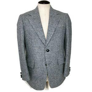 Vintage Harris Tweed Scottish Wool Sport Coat 42R